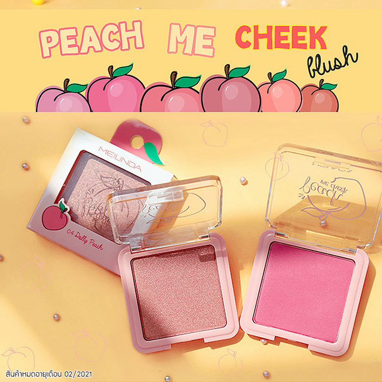 [CLEARANCE] Peach Me Cheek