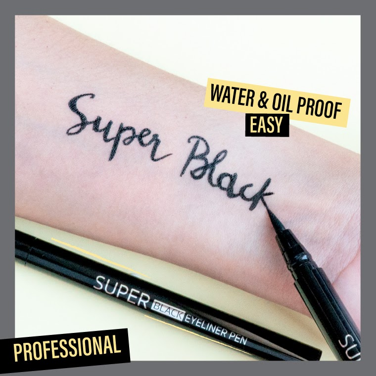 Super Black Eyeliner Pen