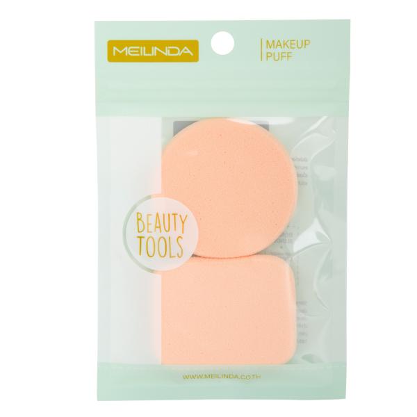 Dual Soft Powder Puff -สีเนื้อ