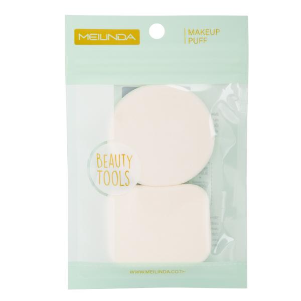 WH Dual Soft Powder Puff -สีขาว