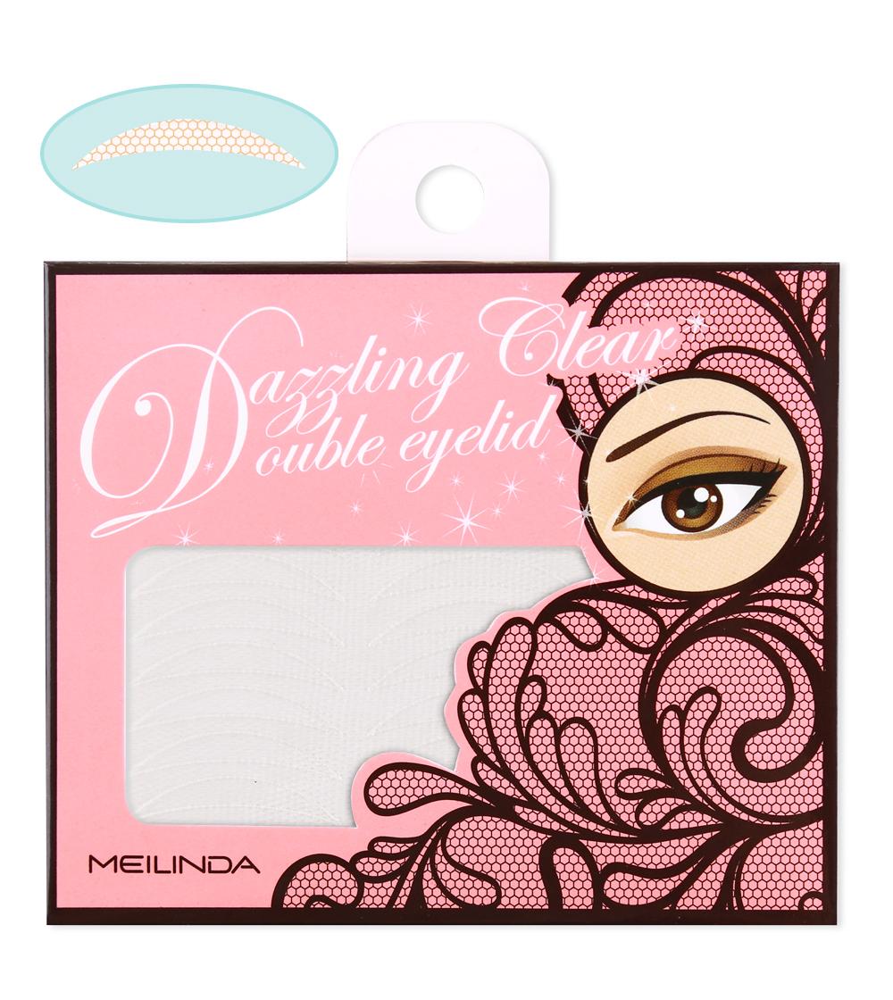 Dazzling Clear Double Eyelid (พร้อมกาว) ทรงเรียว