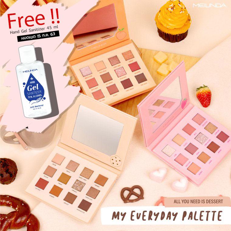 My Everyday Palette [Free Hand Gel Sanitizer 45ml]